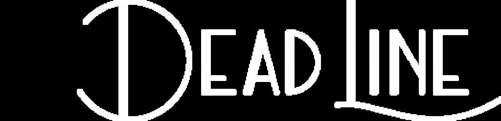 The Deadline white logo